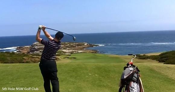 Ashley-Jessen-golfing-NSW-Golf-Club-5th-hole