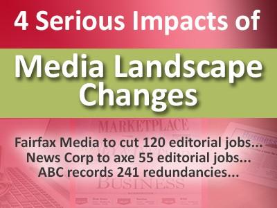 4 Serious Impacts of Media Landscape Changes to Content Creators