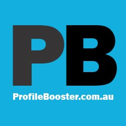 Profile Booster Logo Square