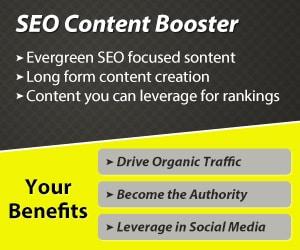 evergreen seo content booster campaign