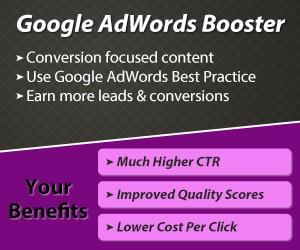 Google adwords booster campaign