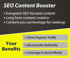 SEO Content package