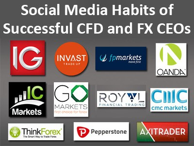 Social media habits of successful CFD/FX CEOs