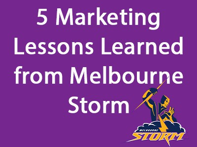 Melbourne Storm and Their Marketing Automation Success Using Big Data