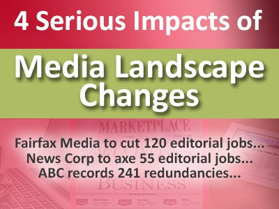 4 Serious Impacts of Media Landscape Changes to Content Creators