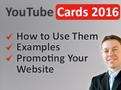 Using YouTube Cards to Boost Your Content